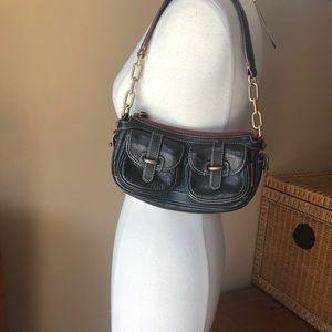 Dooney & Bourke Black Leather Purse Shoulder Bag